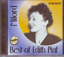ZOUNDS - EDITH PIAF - Milord - Best - rare audiophile 24 Karat Gold-CD 1997