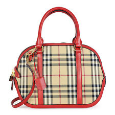 Burberry The Small Red Trim Orchard Bowling Bag