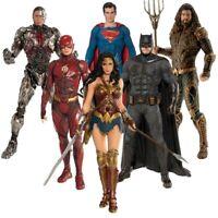 Artfx Justice League Batman Superman Wonder Woman Cyborg The Flash Action Figure