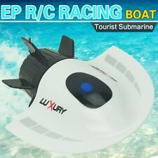 RC Toys Mini Submarine Toy 4CH High Powered Speed Remote Control Boats 2.4G New