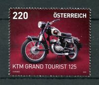 Austria 2018 MNH KTM Grand Tourist 125 1v Set Motorcycles Motoring Stamps