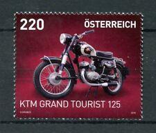 Austria 2018 MNH KTM Grand Tourist 125 1v Set Motorcycles Motoring Stamps