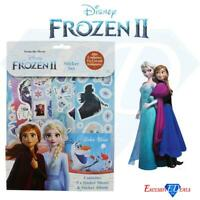 Disney Frozen 2 Children's Sticker & Bookmark Set Anna & Elsa Activity Pack Fun