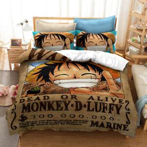 One Piece Luffy Reward Order Quilt Cover