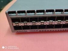 Arista Dcs-7280Se-64-R 7280E 48x Sfp+ & 4x 40GbE Qsfp+ Switch w/ Dual Ac Power