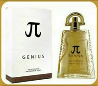 Genius Pi Men's Perfume Cologne Fragrance 3.4fl.oz Sealed in Box.