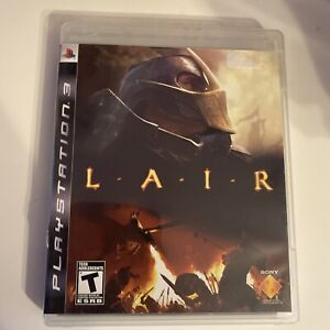 Lair Sony PlayStation 3 PS3 2007 With Manual Tested Working Free Shipping
