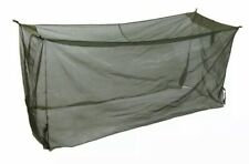 Used MILITARY INSECT NET PROTECTOR 68x200in MOSQUITO MESH NET TENT COVER COT BED