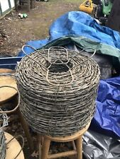 Barbed Wire Full Roll With Bonus Partial Roll