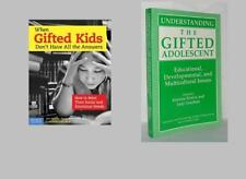 UNDERSTANDING GIFTED KIDS ~ HOW TO MEET SOCIAL AND EMOTIONAL NEEDS~LOT 2 BOOKS!