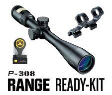 Nikon 16388 P-308 Range Ready Kit 4-12x40mm BDC 800 Reticle Matte Riflescope