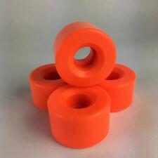 Original Classic Roller Skate Wheels 51mm x30mm  - Orange  88a - set of 4