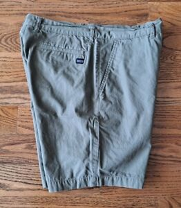 Patagonia 100% Organic Cotton Hiking Outdoors Shorts Men's Size 32 Brown EUC