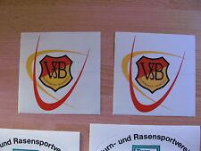VfB Hallbergmoos - Goldbach  - 2 Aufkleber - Bayern Landesliga Südost