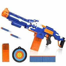 Dart Soft Nerf Style Bullet Gun Toy Shot Electric Rocket Sniper Rifle Dart Gift