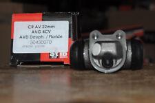 cylindre de roue avant gauche  renault 4 cv, avant droit dauphine floride  22mm