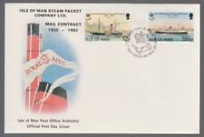 Ships, Boats Decimal Manx Regional Stamp Issues