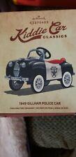 Hallmark Keepsake Ornament Kiddie Car Classics 1949 Gillham Police Car (2015)