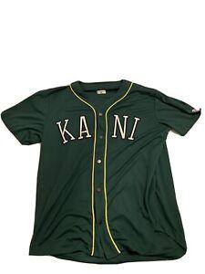 Karl Kani T-Shirt Trikot Geknöpft Gebraucht Größe XL