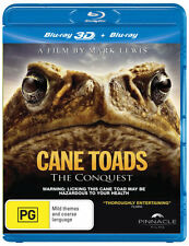 Cane Toads: The Conquest (3D Blu-ray/Blu-ray)  - BLU-RAY - NEW Region B