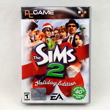 The Sims 2 Holiday Edition (PC, 2005) CD's VGC - Manual Included