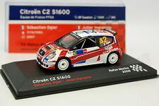 Ixo Presse 1/43 - Citroen C2 S1600 Rallye Mexico 2008