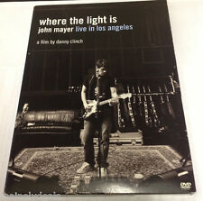 John Mayer: Where the Light Is -  Live in Los Angeles DVD Tested! Works!