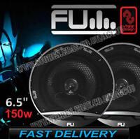 "FLI Underground FU6 6.5"" 165mm 150w 2 Way Car Door Coaxial Speakers Set - Pair"