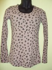 NEW VOLCOM WOMAN CAN'T DECIDE HOODED HOODY THERMAL SHIRT TEE SIZE SMALL
