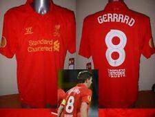 Liverpool Gerrard Fútbol Jersey Camisa De Fútbol Adidas Xxl Guerrero Europa BNWT