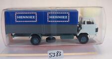 Roskopf RMM 1/87 Nr. 417 Saurer D 290/330 2-achser LKW Pr./Pl. HENNIEZ OVP #5383