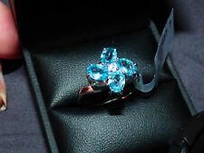 Superb Ratanakiri Blue Zircon Ring