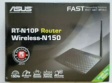 ASUS RT-N10 150 Mbps 4-Port 10/100 Wireless N Router (RT-N10P) New Fast Shipping