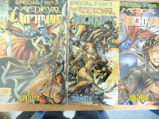 3 x Comic - Medieval Witchblade - Special 1-3 komplett, Splitter