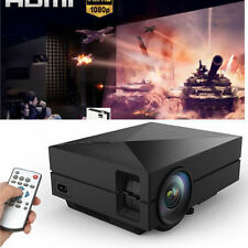 7000LM Full HD 1080P LED LCD 3D VGA HDMI TV Home Theater Movie Projector Cinema