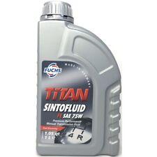 1 Liter FUCHS TITAN SINTOFLUID FE SAE 75W API GL-4