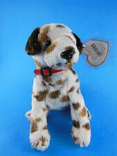 Beanie Babies Beanbag Bo Dog  2002 MWT Unused Stored in Zip Lock Bag
