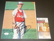 Peyton Manning Little League Autographed 8x10 Photo Hand Signed JSA COA