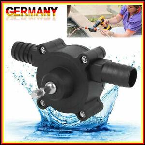 Mini Bohrmaschine Selbstansaugende Transferpumpe Flüssigkeit Bohrpumpe Öl Wasser