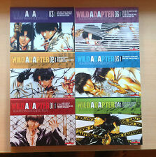 Lote 6 tomos Wild adapter Manga Shonen