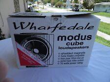 Wharfedale Modus cube loudspeakers