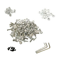 M3 M4 A2 Stainless Steel Hex Screw Nut Bolt Cap Socket Assortment Set Box