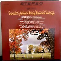 Country Stars Sing Sacred Songs Gospel Music LP Album