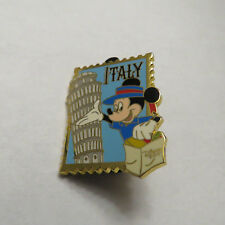 Disney Country Stamp Italy Mickey Pin