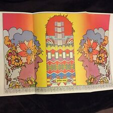 Psychedelic Peter Max Poster Contemporary Art Center flower child children hippy