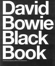 David Bowie Black Book: The Illustrated Biography by Barry Miles, Chris Charlesworth (Paperback / softback, 2016)