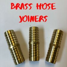 Brass Hose joiner/mender Connector straight barb Fuel Pipe water oil