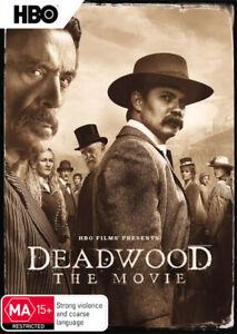 Deadwood: The Movie (DVD) Brand New, Region: 4