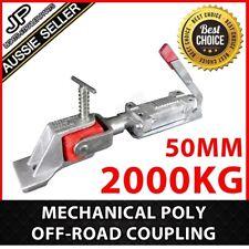 Mechanical Poly Off-road Coupling Hitch Zinc 50mm 2000kg Trailer Part