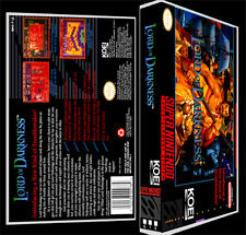 Lord of Darkness - SNES Reproduction Art Case/Box No Game.